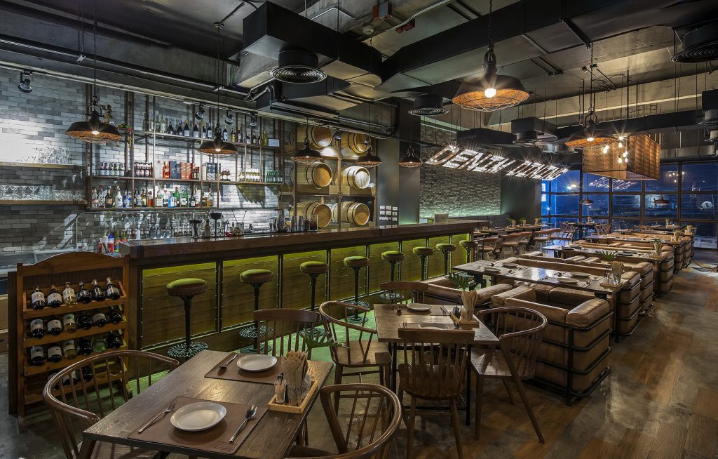 Denim Dining X 90's Bar