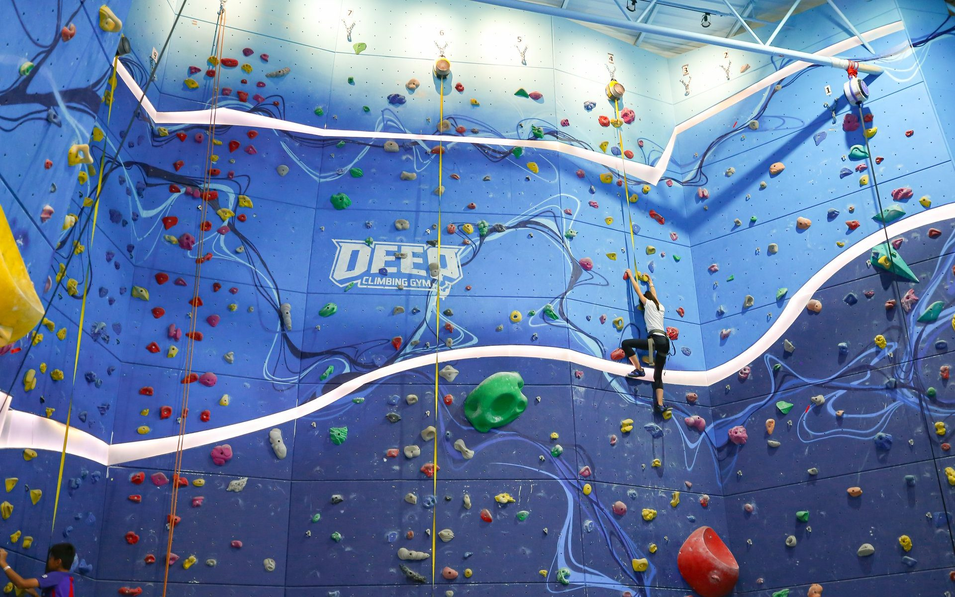 Deep Rock Climbing Gym