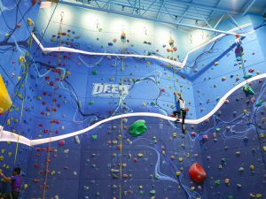 Deep Rock Climbing Gym